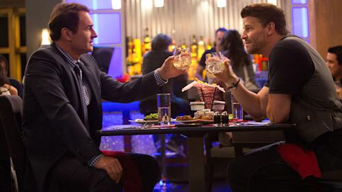 Kate Walsh, David Boreanaz, and Julian McMahon on the Intricacies of Eating and Talking Through Neil LaBute's 'Full Circle'