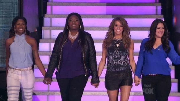 'American Idol' Top 4 Redux: High Standards and Low Blows
