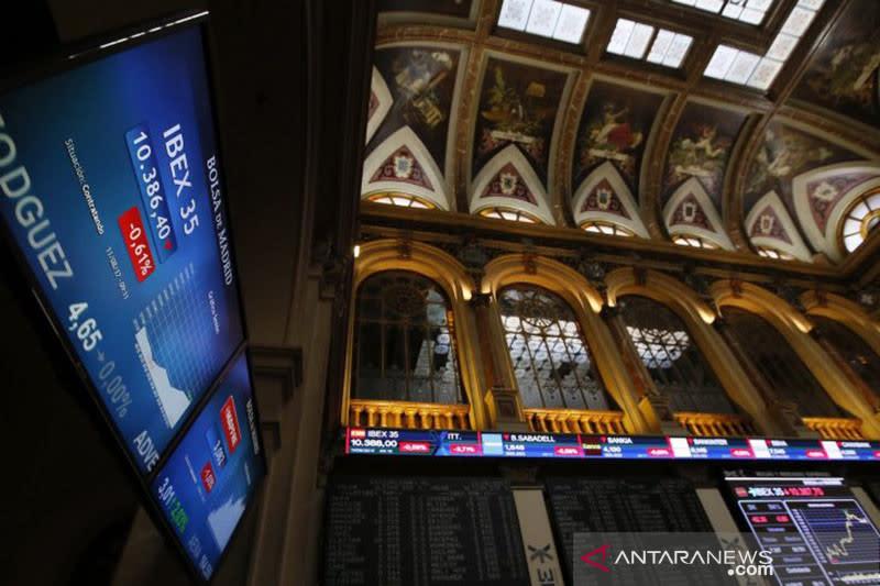 Saham Spanyol hentikan kerugian 4 hari, IBEX 35  bangkit 0,72 persen