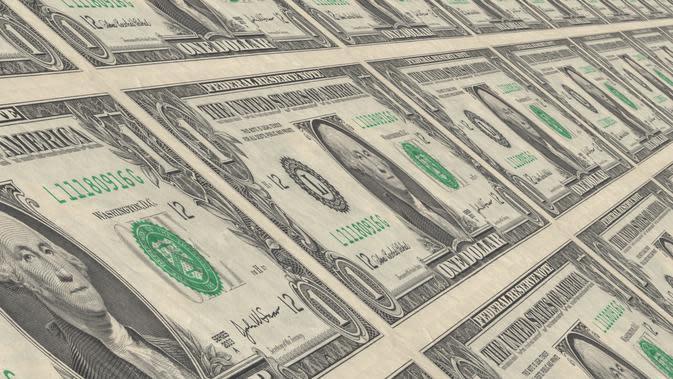 Ilustrasi pendanaan startup, funding startup, dolar, uang dolar, uang. Kredit: Gerd Altmann via Pixabay