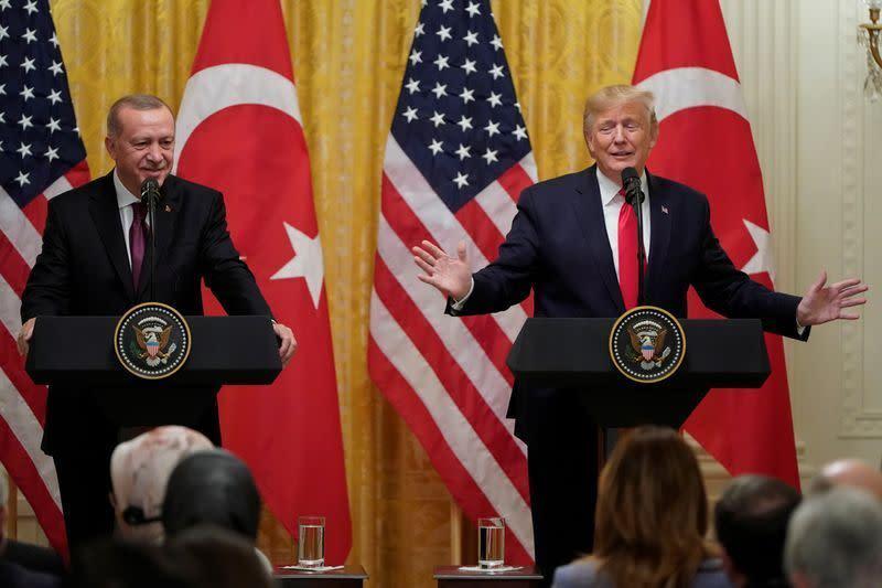 Erdogan katakan dia dan Trump setuju beberapa masalah tentang Libya
