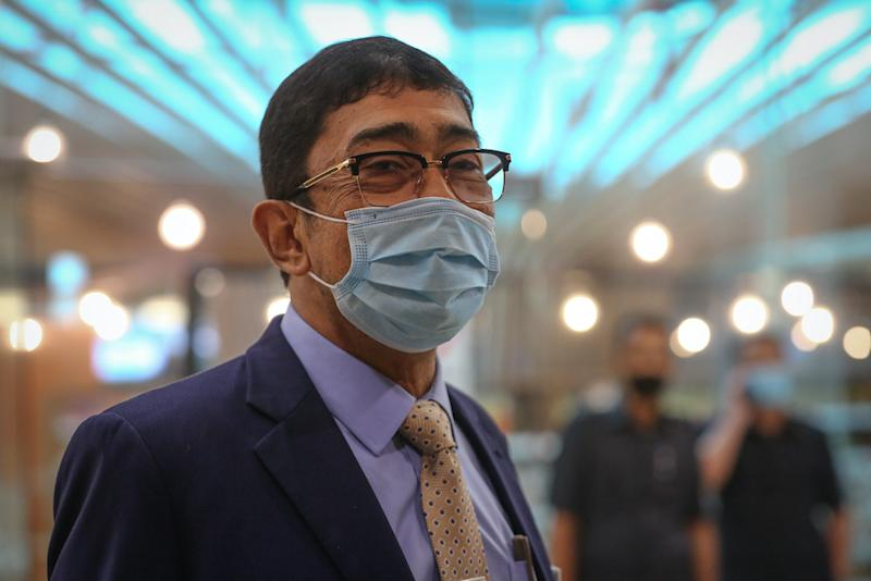 Deputy Communications and Multimedia Minister Datuk Zahidi Zainul Abidin is pictured at Parliament in Kuala Lumpur August 3, 2020. — Picture by Yusof Mat Isa