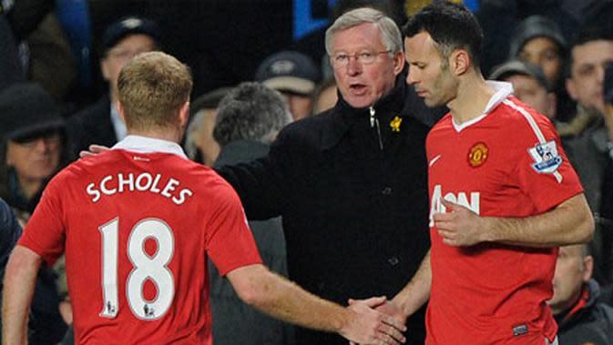 Paul Scholes dan Ryan Giggs Menjadi Pemain Kesayangan Sir Alex Ferguson