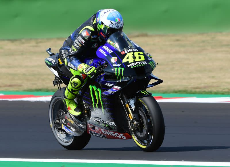 Motorcycling: Rossi rues missed opportunity for 200th podium after Catalunya crash