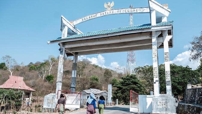 Perbatasan Indonesia-Timor Leste.