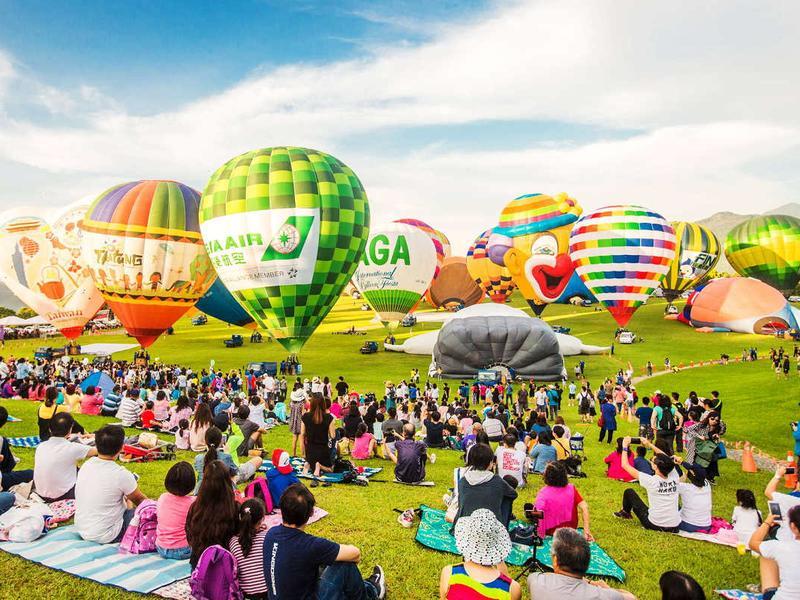 Top 3 台東熱氣球