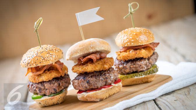 Ilustrasi Foto Roti Burger (iStockphoto)