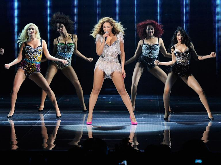 10. Beyonce as Super Bowl halftime performer
