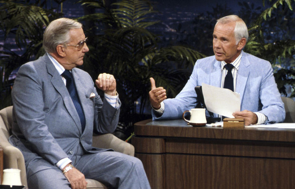 Johnny Carson and Ed McMahon (The Tonight Show)