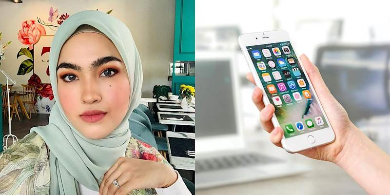 Elfira says she bought the phone to prevent her son from trying to play with hers. — Pictures from Instagram/ elfiraloy and Pexels