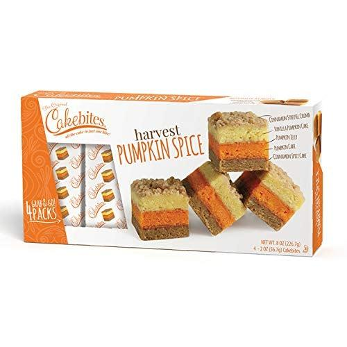 "<p>Don't these <a href=""https://www.popsugar.com/buy/Original-Cakebites-Cookies-United-Harvest-Pumpkin-Spice-485188?p_name=The%20Original%20Cakebites%20by%20Cookies%20United%2C%20Harvest%20Pumpkin%20Spice&retailer=amazon.com&pid=485188&price=8&evar1=yum%3Aus&evar9=46556985&evar98=https%3A%2F%2Fwww.popsugar.com%2Fphoto-gallery%2F46556985%2Fimage%2F46556988%2FOriginal-Cakebites-by-Cookies-United-Harvest-Pumpkin-Spice&list1=shopping%2Camazon%2Cfall%2Cdessert%2Cpumpkin%20spice%2Cfall%20food&prop13=api&pdata=1"" rel=""nofollow"" data-shoppable-link=""1"" target=""_blank"" class=""ga-track"" data-ga-category=""Related"" data-ga-label=""https://www.amazon.com/Original-Cakebites-Cookies-Bite-Sized-Harvest/dp/B07VDM8M84/ref=sr_1_10?keywords=pumpkin%2Bspice%2Bdessert&amp;qid=1567010928&amp;s=gateway&amp;sr=8-10&amp;th=1"" data-ga-action=""In-Line Links"">The Original Cakebites by Cookies United, Harvest Pumpkin Spice</a> ($8) sound delicious?</p>"