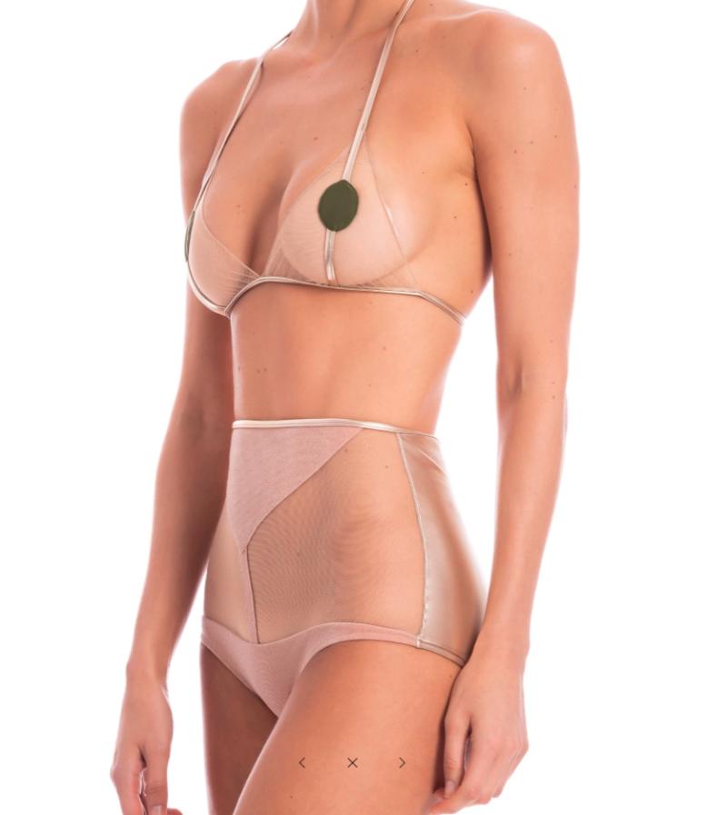 Martini Tulle Hot Pants Bikini by Adriana Degreas