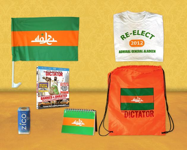 Yahoo! Movies Giveaway: Officially Sanctioned 'The Dictator' Home Viewing Party Kit
