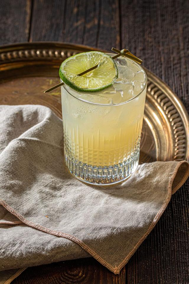 """<p><a href=""""https://www.novikovrestaurant.co.uk/"""" target=""""_blank"""">Novikov restaurant</a> advise simply combining in a shaker 50 ml Casamigos blanco, reposado or mezcal, 25 ml lime juice, 10-15 ml agave syrup and two dashes of orange bitters. Shake and serve with an orange or lime wedge.</p>"""