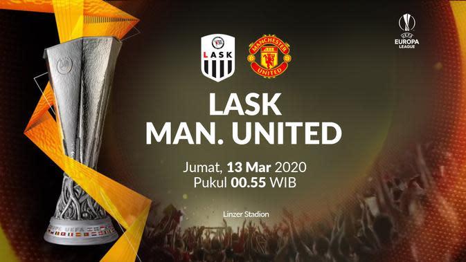 Liga Europa - LASK Vs Manchester United (Bola.com/Adreanus Titus)