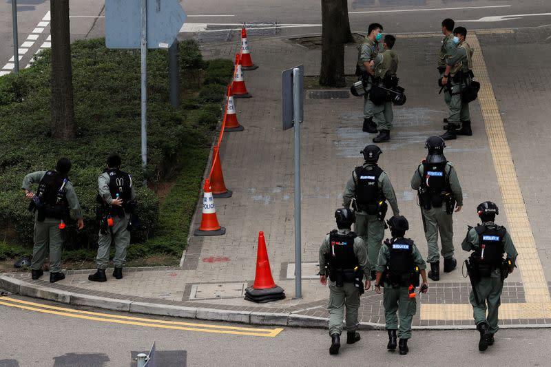 China expands scope of Hong Kong security legislation: media reports
