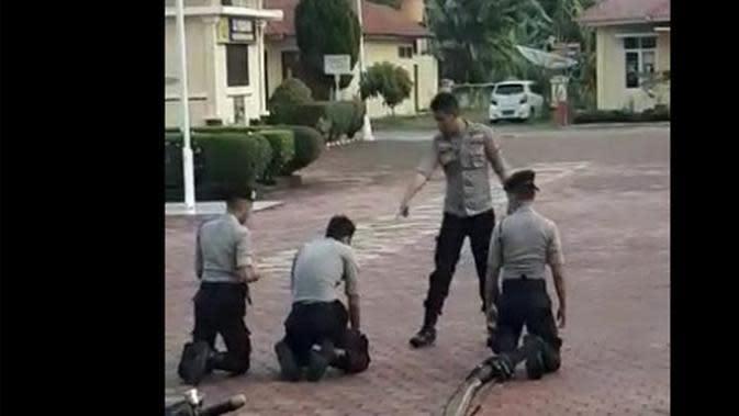 Viral Video Oknum Perwira Polri Aniaya 3 Juniornya di Sumatera Barat
