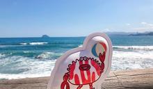 強化產地品牌意象 「小萬里蟹」登陸維納斯海岸