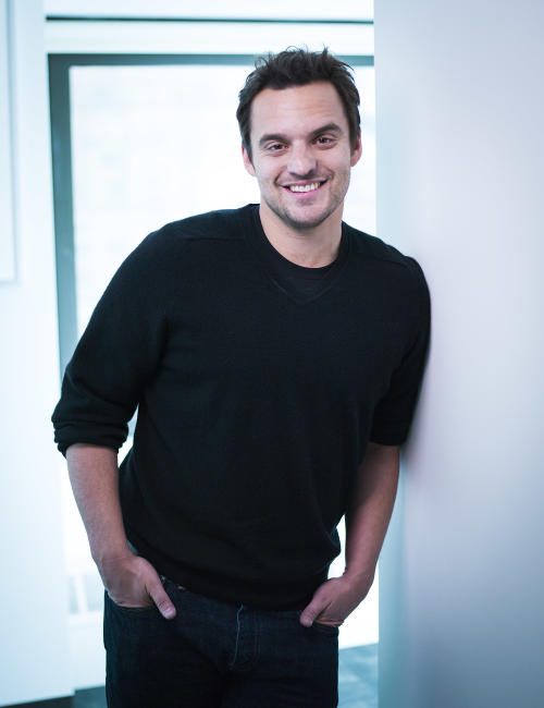 "This April 24, 2013 photo shows actor Jake Johnson from the Fox comedy television series ""New Girl,"" posing for a portrait in New York. Season one of Fox's ""New Girl"" introduced TV fans to the ""adorkable"" Zooey Deschanel and the hilarity of Max Greenfield. Both earned Emmy, Golden Globe and SAG Award nominations for their work. As season two wraps up Tuesday, May 14, 2013, their co-star Johnson is emerging as another one to watch both on the series and in Hollywood. (Photo by Scott Gries/Invision/AP)"