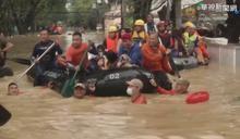 「梵高」狂風豪雨 菲律賓馬尼拉13死