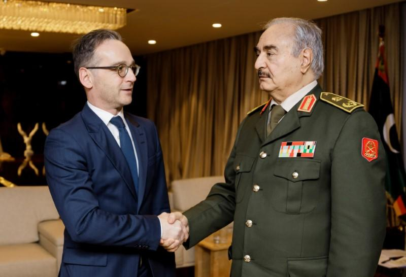 Libya's Haftar committed to ceasefire, Germany says