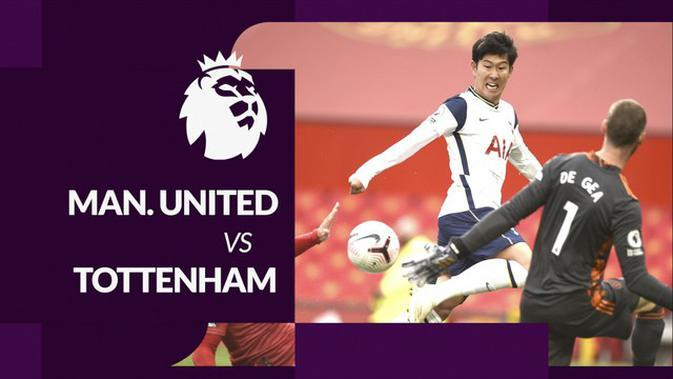 MOTION GRAFIS: Statistik Liga Inggris, Manchester United Kalah Telak dari Tottenham Hotspur 1-6
