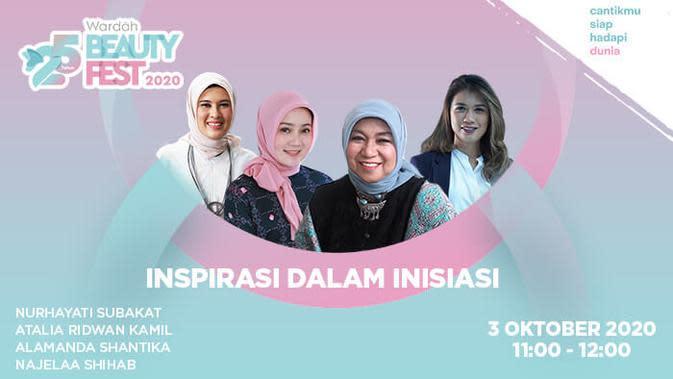 Dok. Wardah Beauty Fest 2020.