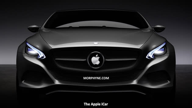 A more realistic idea of what Steve Jobs' iCar could have been