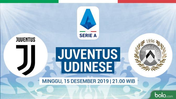 Ronaldo Batal Hattrick, Kemenangan Juventus Ternoda Gol Telat Udinese