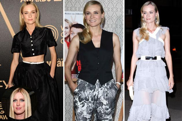 "Nicky Hilton - ""I think Diane Kruger always looks so beautiful."""