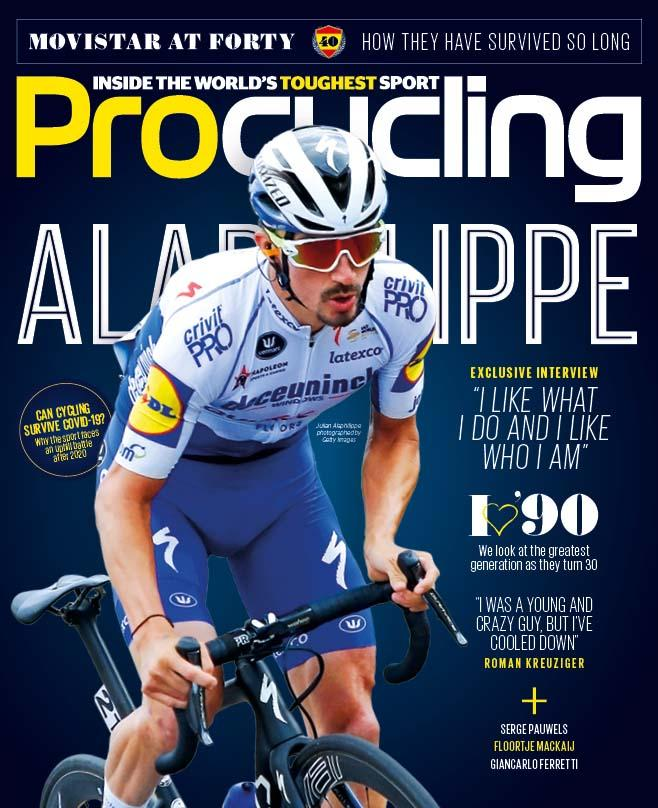 Procycling magazine June 2020, featuring cover star Alaphilippe