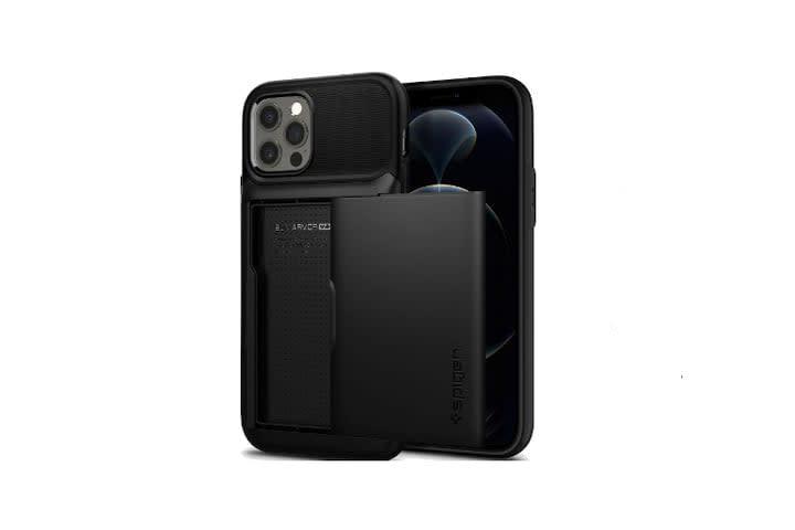 Spigen Slim Armor Wallet iPhone 12 Case