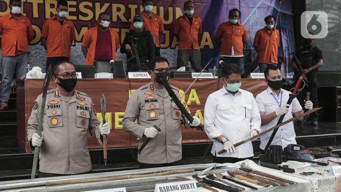 Anak Buah John Kei Gunakan Senjata Api Rakitan Saat Beraksi di Tangerang