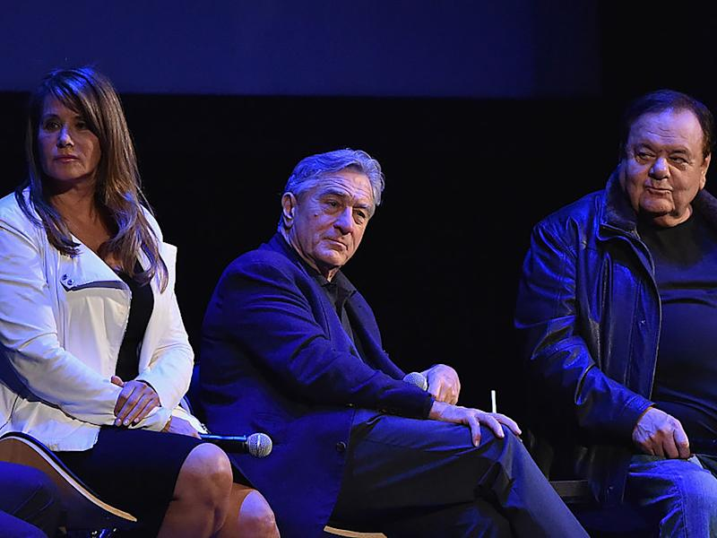 Lorraine Bracco, Robert De Niro and Paul Sorvino attend a 25th anniversary screening of 'Goodfellas' in 2015Mike Coppola/Getty