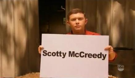 "Scotty McCreery Announces ""Name Change"" on Conan O'Brien's Show"