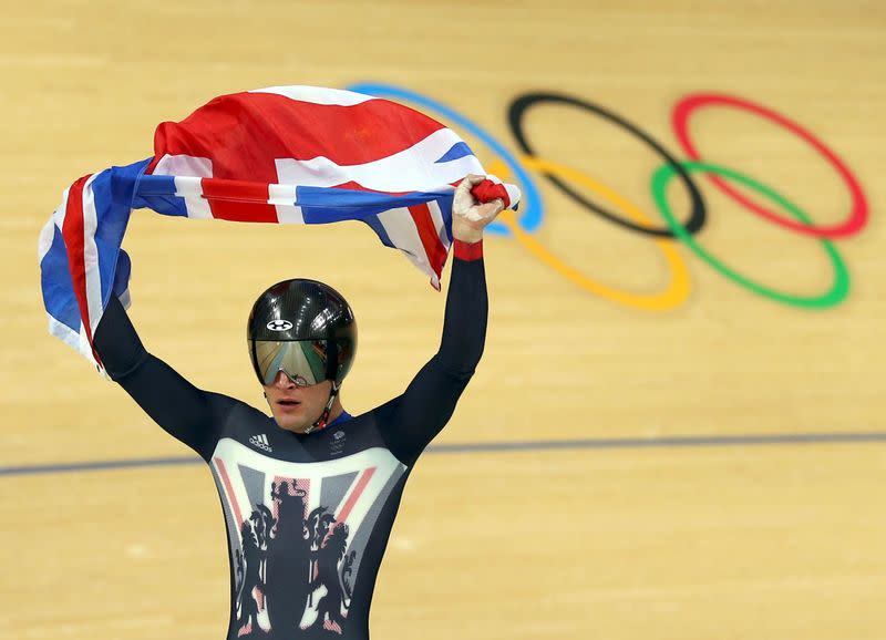 FILE PHOTO: 2016 Rio Olympics - Cycling Track - Men's Team Sprint Final Gold Race