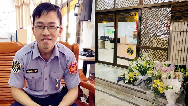 鐵路警察李承翰遭刺死,被告因罹患思覺失調症獲判無罪,各界譁然。(圖/東森新聞)