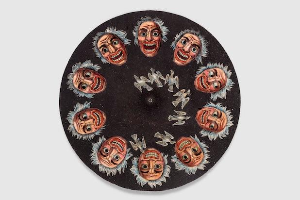 animation disc for Living Pictures Optical Illusion Phenakistiscope