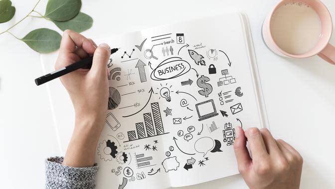 Ilustrasi bisnis kreatif (sumber: Pixabay)