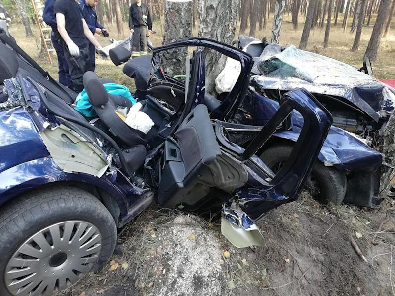 Car Crash Victim Trapped Next To Dead Husband In Poland