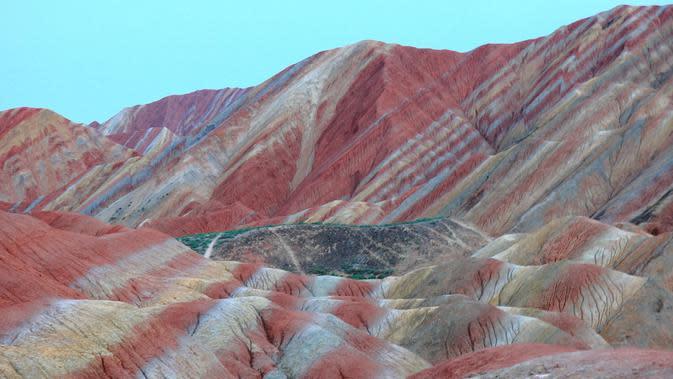Zhangye Danxia Mountains / Sumber: Pixabay