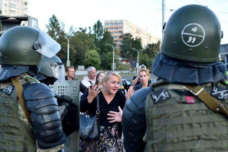 Belarus confirms protester's death amid violent crackdown on unrest