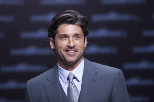 "FILE - In a June 25, 2011 file photo, Patrick Dempsey attends the German premier of the movie Transformer 3 in Berlin. Dempsey is bringing his passion for auto racing to television with a new documentary series. The Velocity channel said Thursday, April 5, 2012 that the ""Grey's Anatomy"" star will produce ""Road to Le Mans,"" a four-part series about his competition in the venerable French race next year. (AP Photo/Markus Schreiber, File)"