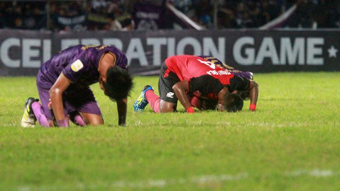 Persik Ditundukkan Persis, Pesta Sang Juara Liga 2 Ternoda di Brawijaya