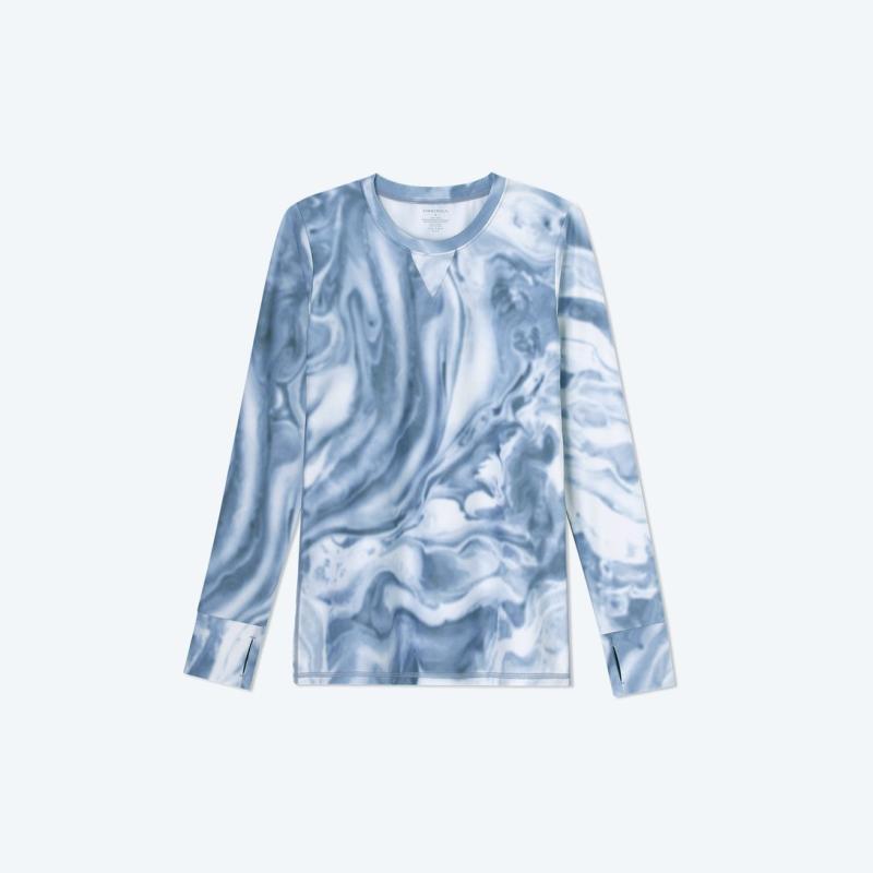 The Long Sleeve Pullover. Image via Summersalt