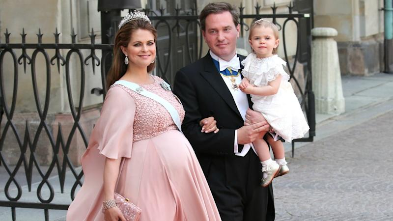 Princess Madeleine gave birth just two days after her brother Prince Carl Philip's wedding. Photo: Getty Images
