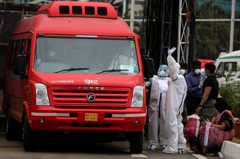 Spread of the coronavirus disease (COVID-19) in Mumbai