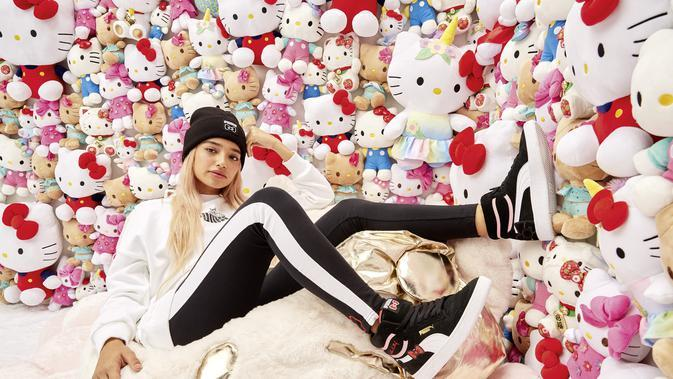 Puma X Hello Kitty. Sumber foto: Document/Puma.