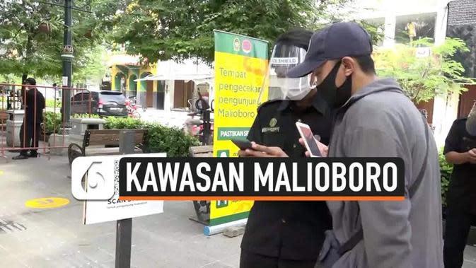 VIDEO: New Normal, Wisatawan Masuk Malioboro Dibatasi