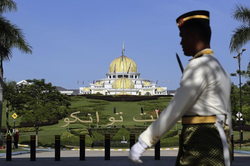A general view of Istana Negara in Kuala Lumpur January 9, 2019. — Picture by Yusof Mat Isa